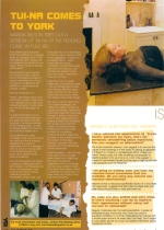 Image of YO1 magazine article on Tuina clinic